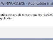 Cara Mengatasi error 0xc00007b Windows