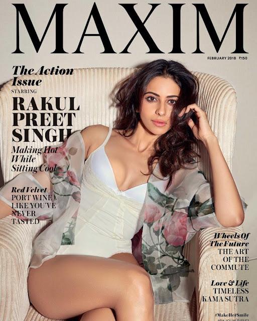 Rakul Preet Singh sizzles on Maxim magazine cover