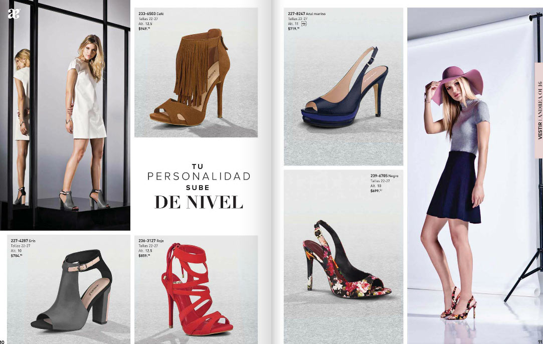 eb2352cc Calzado Andrea sandalias de moda otoño invierno 2016 ~ catalogos online