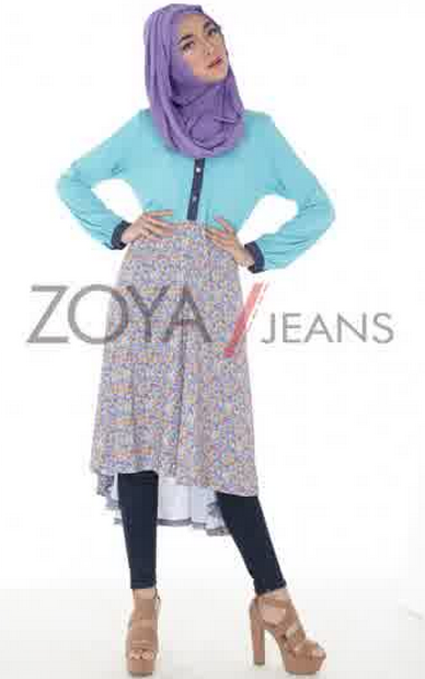 Contoh Baju Muslim Brand Zoya