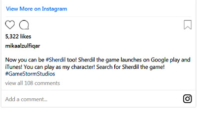 Sherdil Movie Game Has been Published on Google Play Store   Mikaal Zulfiqar's Sherdil Game