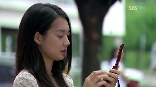 Shin Min Ah and Handphone, Mobile Phone, Cell Phone,