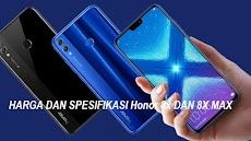Harga Dan Spesifikasi Honor 8X dan 8X Max