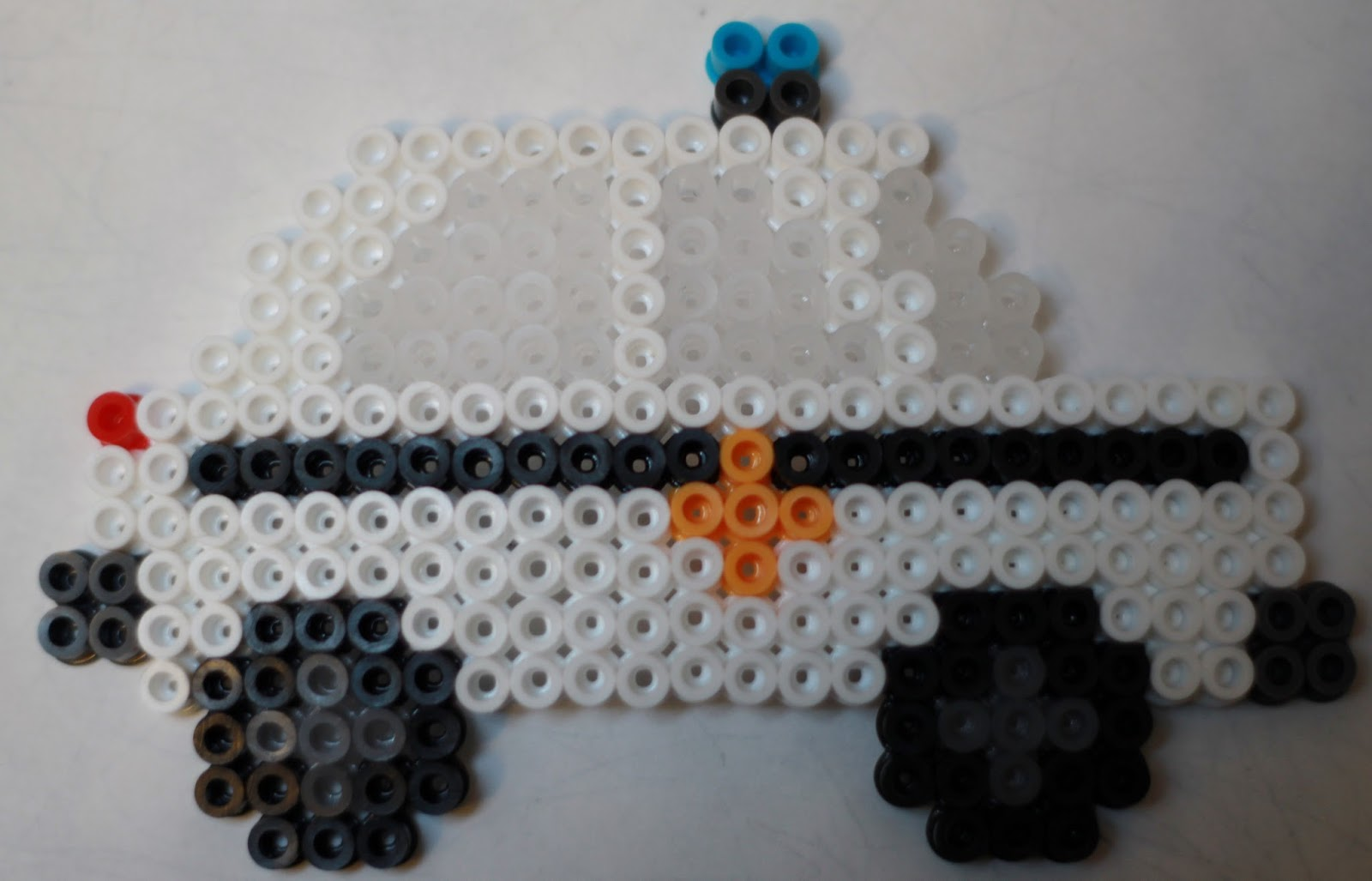 Police Car From Perler Beads Perler Party