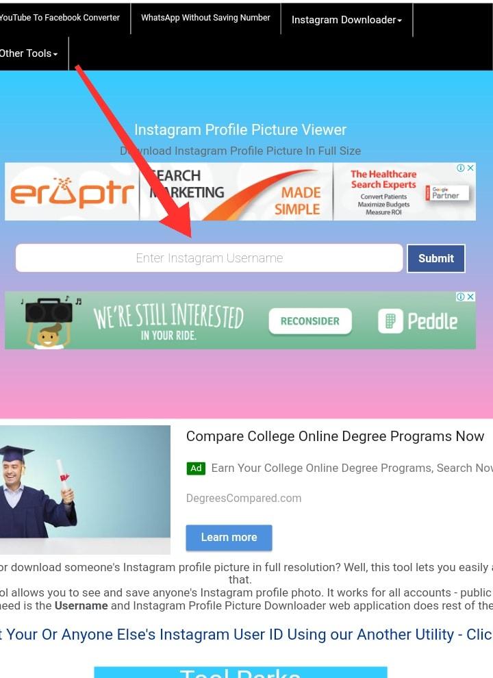 Cara Download Foto Profil Instagram Orang Lain Tanpa Aplikasi Cara Lihat/Download Foto Profil Instagram Orang Lain Tanpa Aplikasi