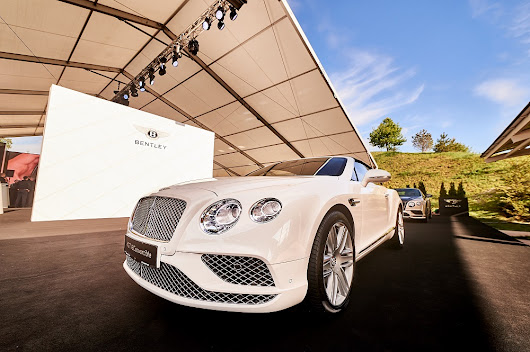 Bentley opens new showroom in Kyiv, Ukraine