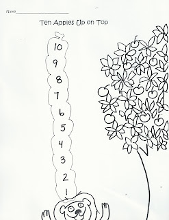 Chicka Chicka Kindergarten: Ten Apples Up On Top