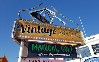Magical Golf at Mannings Amusements in Felixstowe