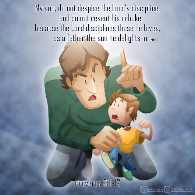 Do not despise the Lord's discipline