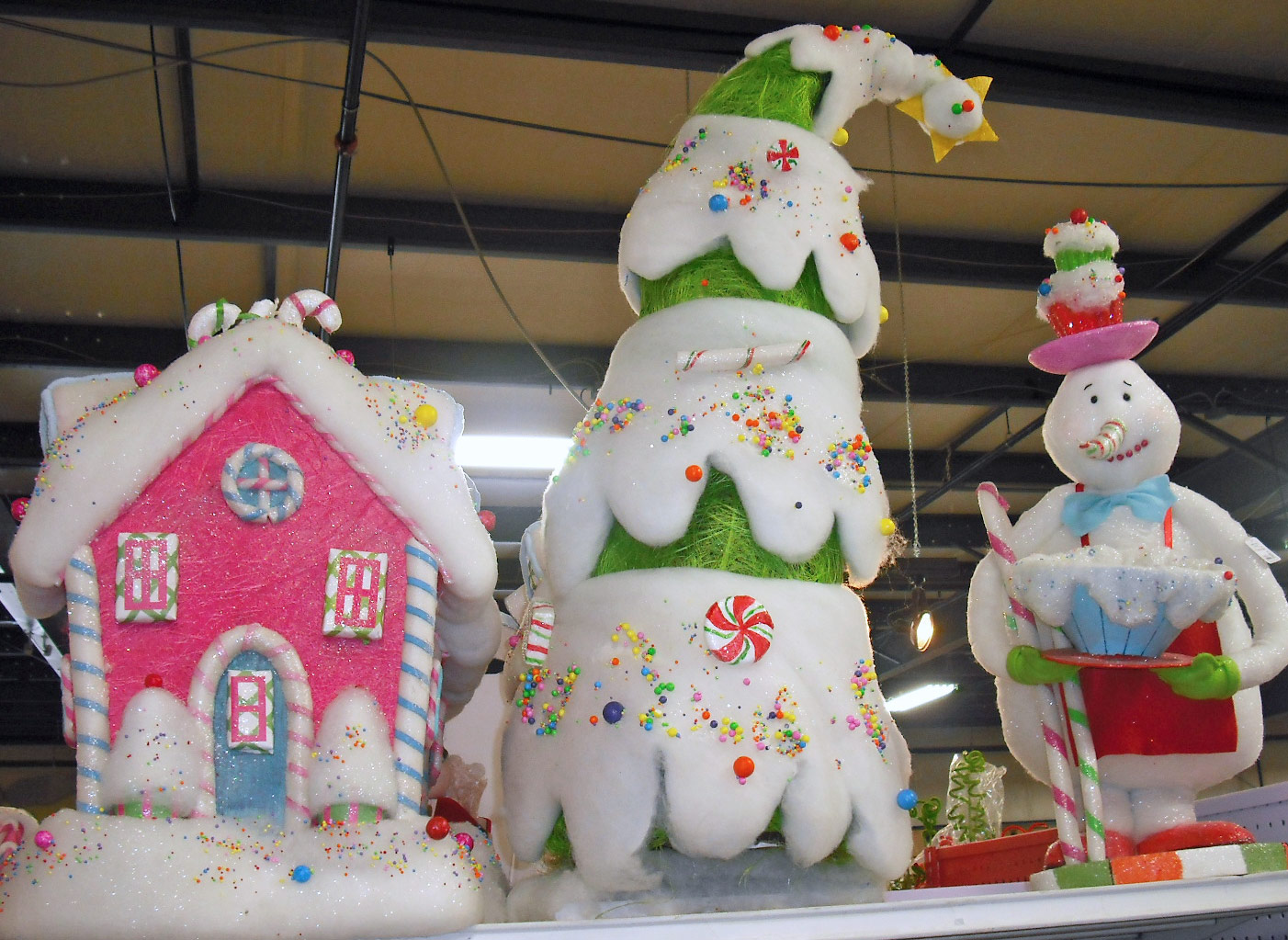 Christmas Candyland Theme.Studio B Uberart Twelve Days Of Christmas Trees Day 10