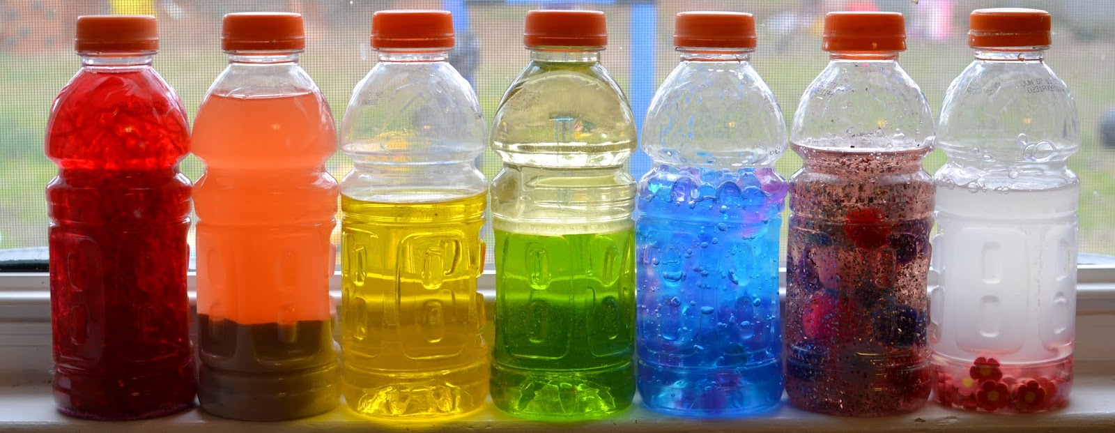 Sweet Baby Rainbow Discovery Bottles