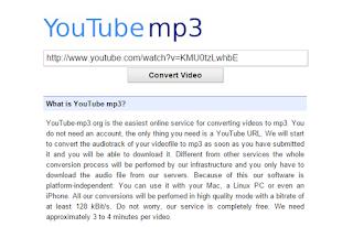 Cara Mudah Download Youtube Dengan Format MP3