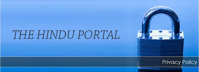 THE HINDU PORTAL - Privacy Policy