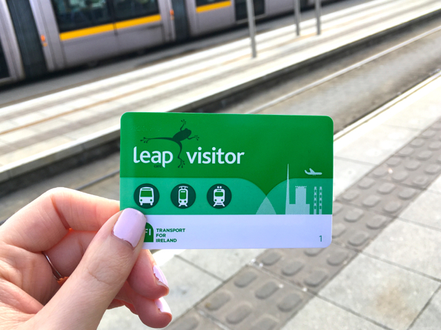 Leap visitor card, Dublin