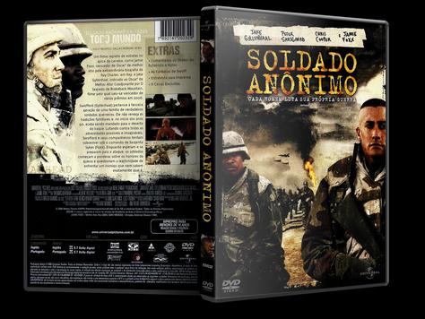 Capa DVD Soldado Anônimo