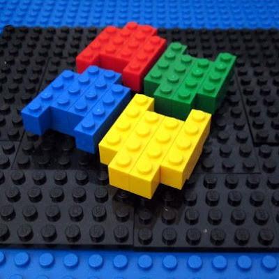 MOC LEGO Logotipo Windows