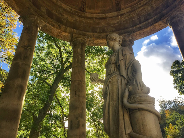 St Bernard's Well, Water of Leith, Edinburgh