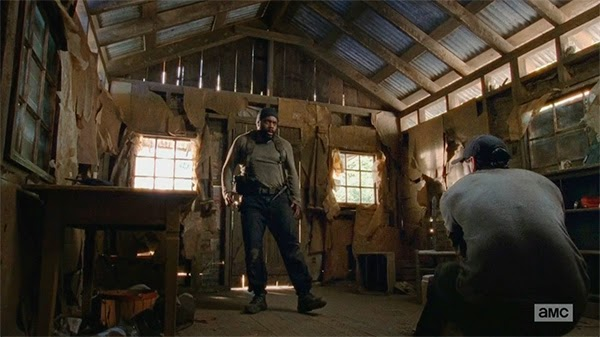 Tyreese en The Walking Dead 5x01