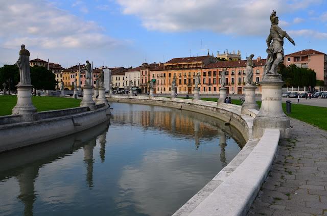 Padwa. Plac Prato della Valle
