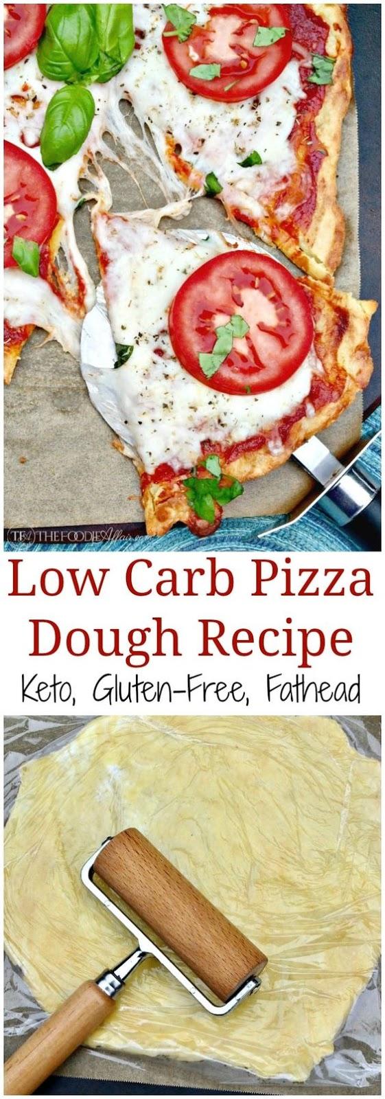 LOW CARB PIZZA DOUGH #LOWCARB #PIZZA