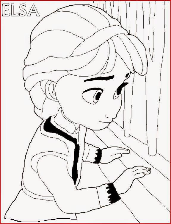 Princess Elsa coloring.filminspector.com