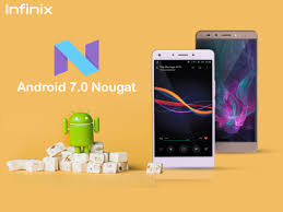 Android 7.0 Nougat update direct links for Infinix Smartphones