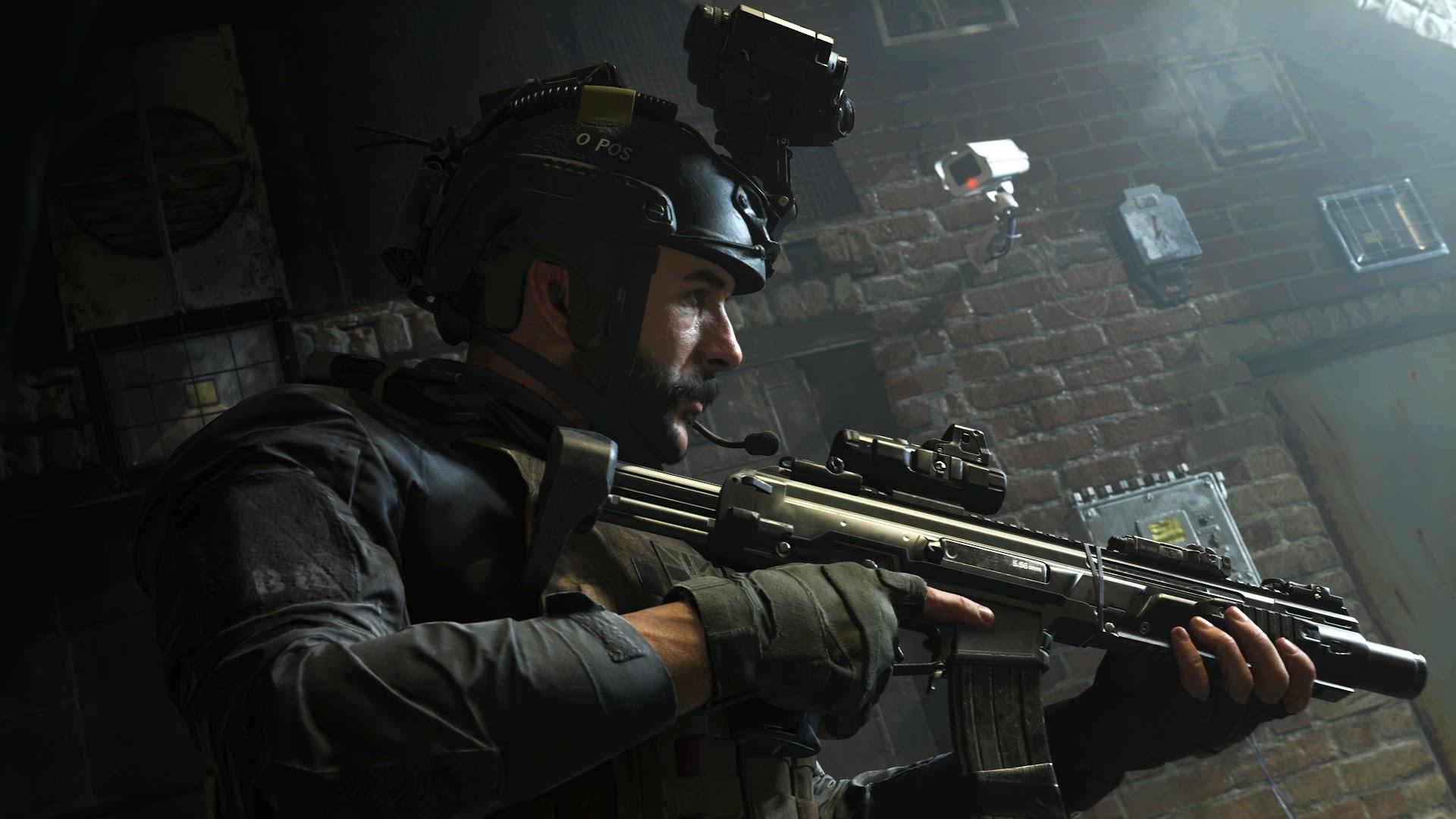 Call Of Duty Modern Warfare Captain Price 4k Wallpaper 8