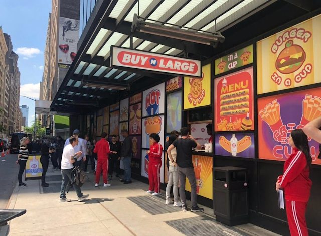 Buy-N-Large Pixar pop-up shop in New York City