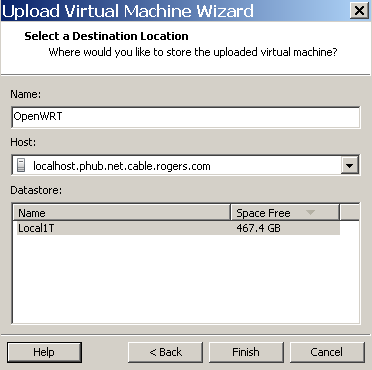 OpenWRT in Vmware as a light weight router and virtual host - Cyber