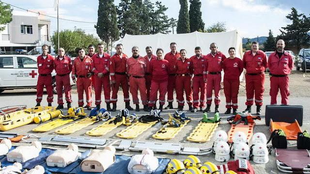 Σχολή Εθελοντών Σαμαρειτών - Διασωστών του Ελληνικού Ερυθρού Σταυρού στην Ορεστιάδα