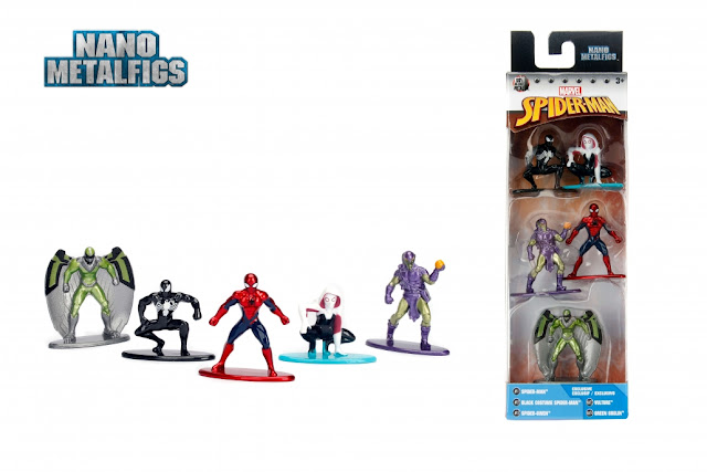 Collectible Nano MetalFigs from Jada Toys!