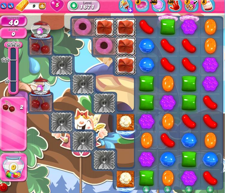 Candy Crush Saga 1671