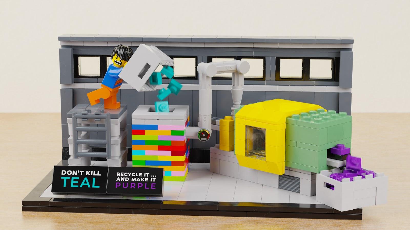 Quot Kill Teal Quot Models Vol 2 New Elementary A Lego 174 Blog