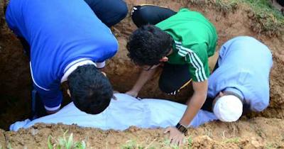 Beginilah Keadaan Mayit Setelah Dikuburkan