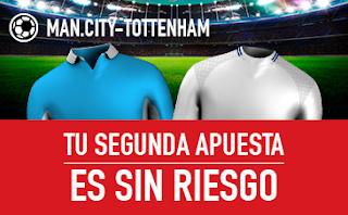 sportium promocion City vs Tottenham 16 diciembre