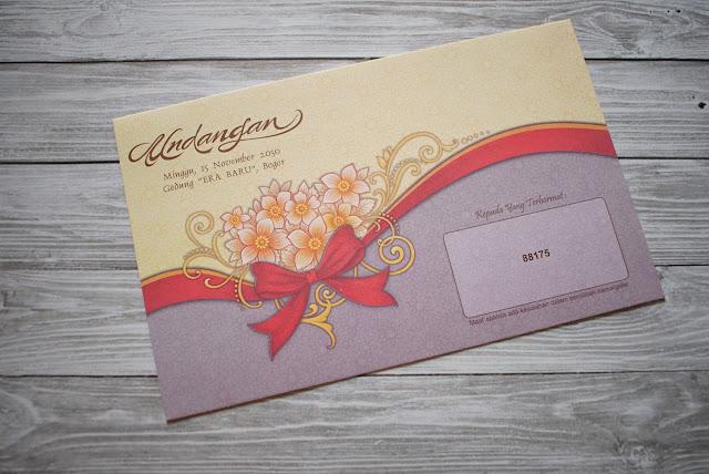 Undangan pernikahan murah Jembrana Bali