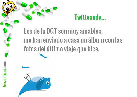 Tweet Gracioso: Multas de la DGT
