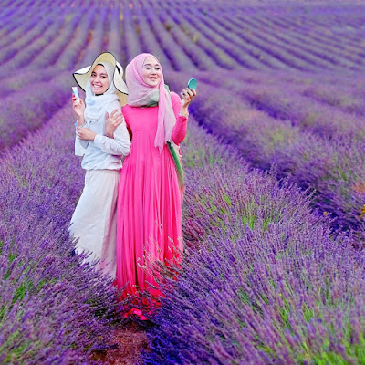 Model Baju Muslim Dian Pelangi
