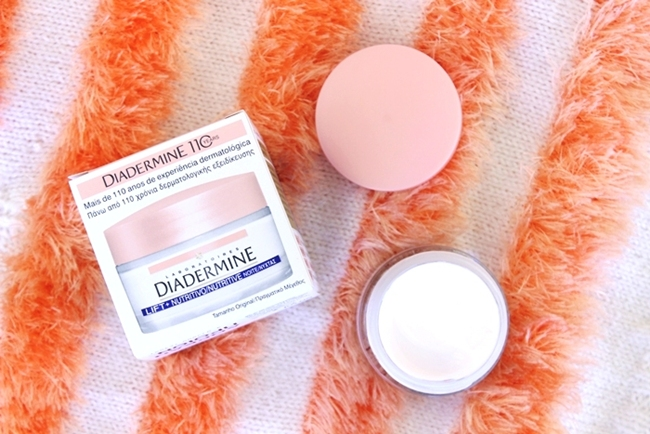 Diadermine LIFT+ nutrition nourishing anti-wrinkle night face cream with pro-collagen and pro-lipids.Diadermine lift+ nocna krema.