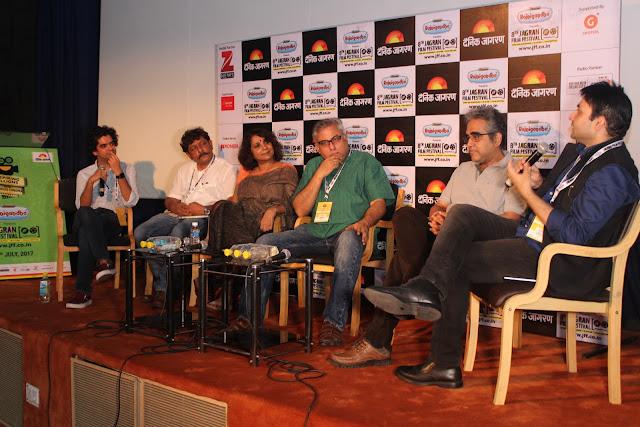 Coffee Table Session by Mayank Shekhar Writing Stars Biography with Yasir Khan, Aseem Chhabbra, Udayan Mitra, Poonam Saxena, Prakash K Ray (2)