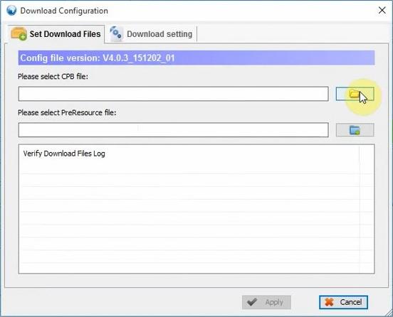 Cara Flash CPB Firmware Menggunakan YGDP Tool