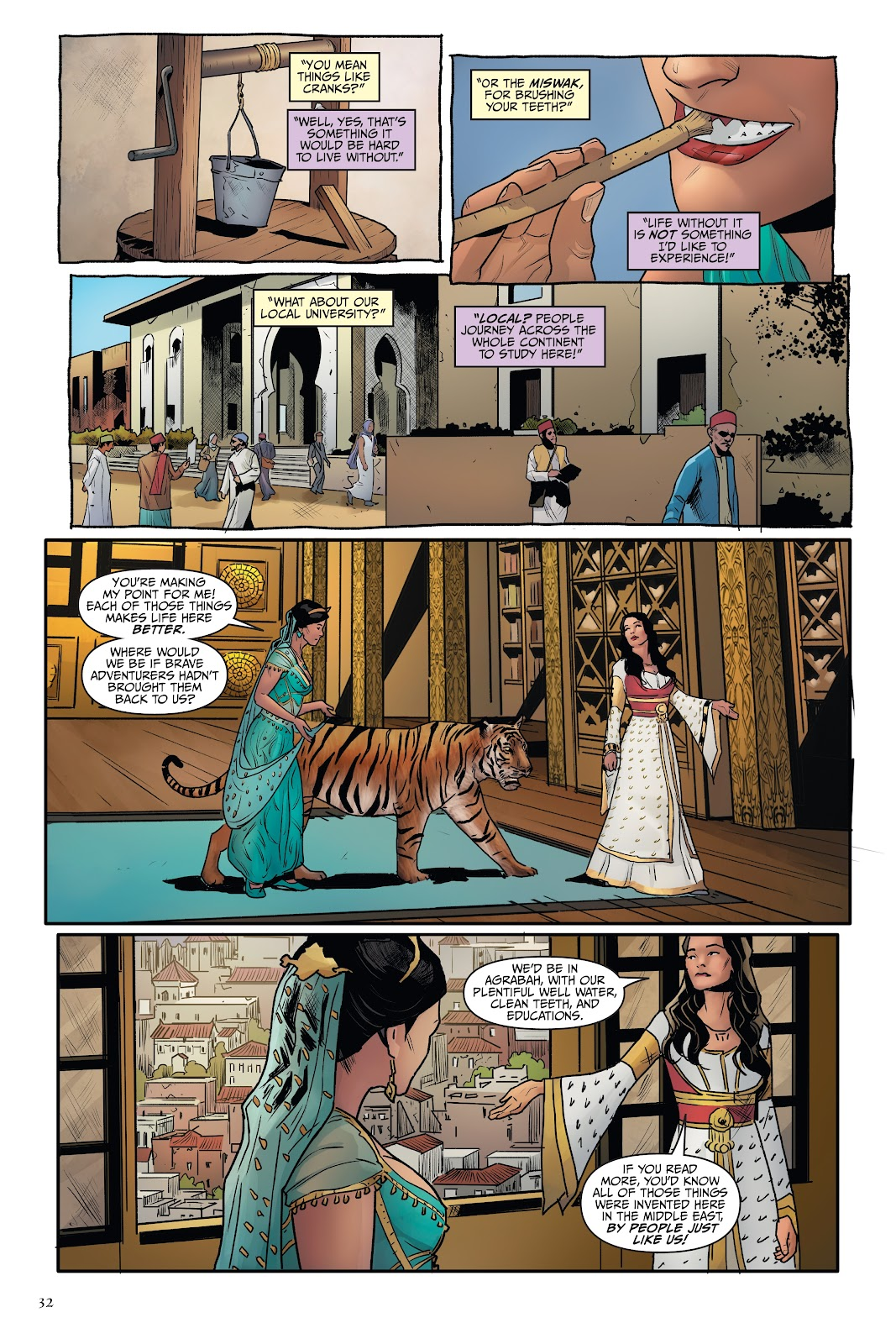 Read online Disney Aladdin: Four Tales of Agrabah comic -  Issue # TPB - 32