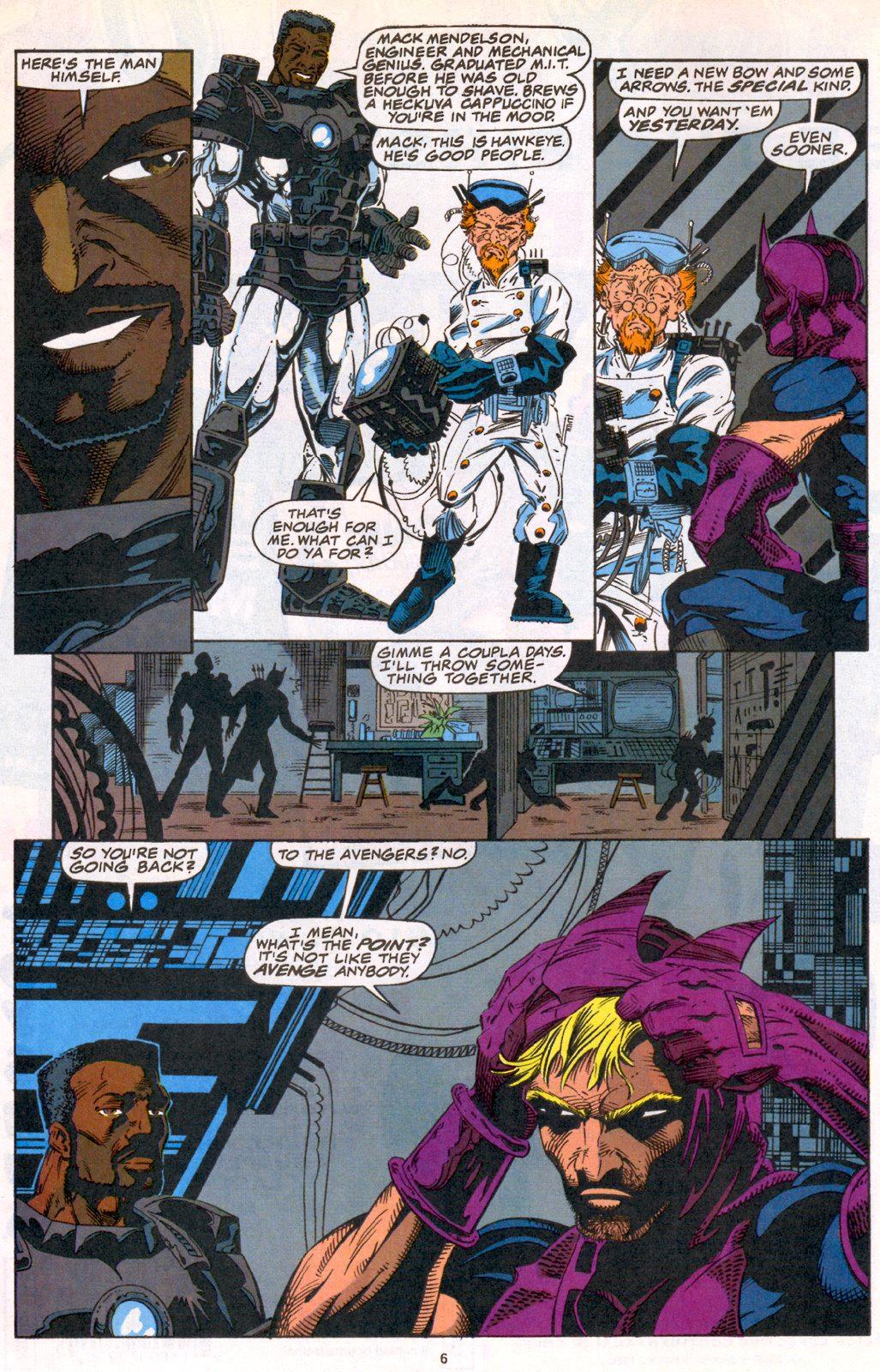 Hawkeye (1994) Issue #3 #3 - English 5