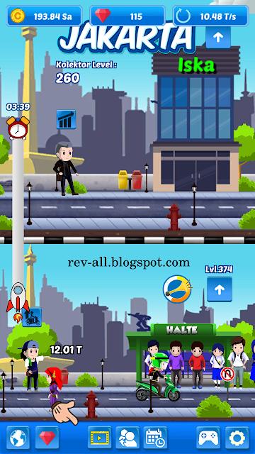 Tampilan utama permainan juragan ojek (lyto) rev-all.blogspot.com