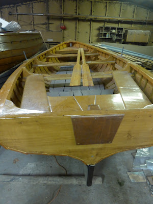 Salmon Fishing Scotland Traditional Wooden Boat Building.