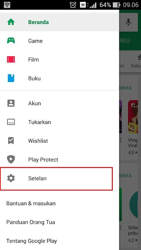 Cara Melakukan Pembaruan Aplikasi Play Store Ke Versi Terbaru