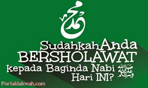 Kumpulan Teks Bacaan Shalawat Nabi Muhammad SAW Yang Benar