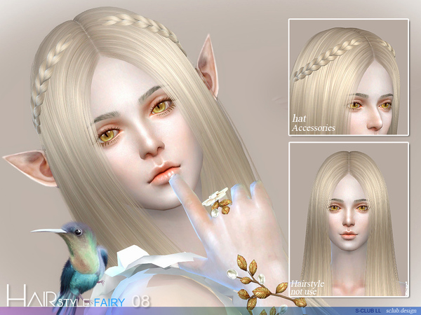 My Sims 4 Blog Fairy Hair By S Club