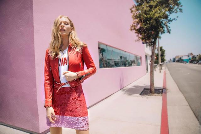 Ropa de mujer primavera verano 2019 minifaldas y camperas de cuero liviano. Moda primavera verano 2019