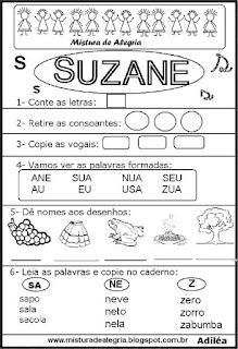 Brincando com os nomes -Suzane